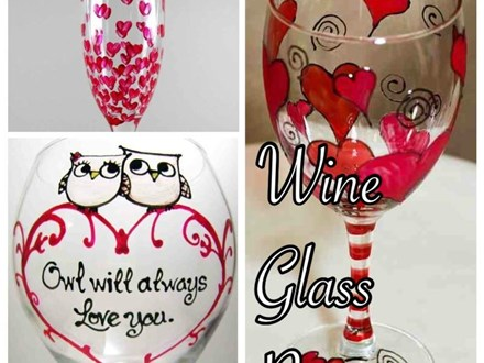 Date Night - Wine Glass Painting