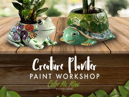 Creature Planter Paint Workshop - April 8, 2020