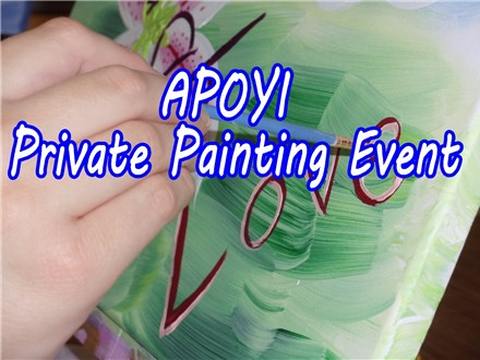 Private Painting Event, 6 pm.