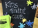 Kids Paint Club Fall 2020 at POTTERY BY YOU!