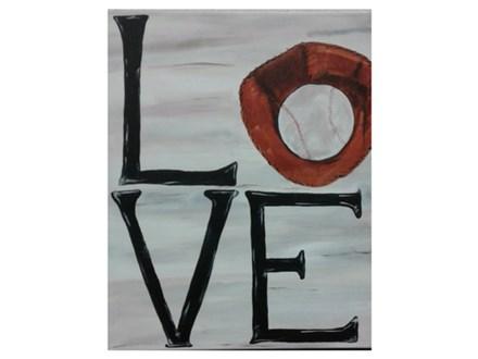 LOVE Baseball - Paint & Sip - May 18