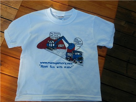 T-Shirt/Dirt Mover and Dump Truck