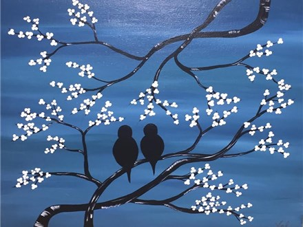 "Sip-N-Paint ""Birds"" (Thurs. 10/08)"