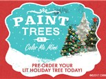 Vintage Tree Painting Party