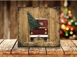 """Vintage Truck"" Pallet Board Sip & Paint Event ages 21 & up 12/7/20"
