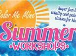 SUMMER KIDS at Color Me Mine - Denville, NJ