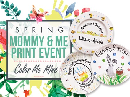 MOMMY & ME EASTER HAND PRINT EVENT!