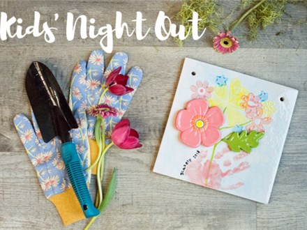 Kids Night Out: Gift for Mom - April 27 @ 6pm