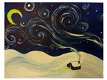 Cabin in the Snow - Paint & Sip - Nov 3