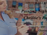 Painting Night at Christie's Pub