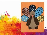 Kids Canvas Class - Patchwork Turkey - Friday, November 16