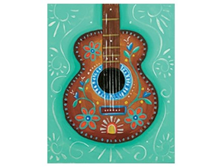 """""""Mexican Guitar"""" Paint Night, April 1st"""