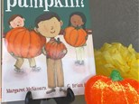 """Pre-K STORY TIME!  """"How many seeds in a pumpkin"""""""