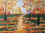 Autumn Canvas Class - November 3rd