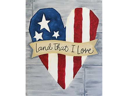 ONE DAY ONLY    Land That I Love! Saturday, May 27 @ 5 p.m.