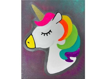 Unicorn Kids Canvas Class - 06/15