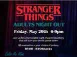 Stranger Things Adults Night Out - May 29th
