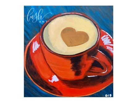 Coffee Cup Paint Class