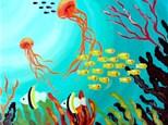 "Canvas Night ""Under The Sea"" Saturday, August 5th 7-10pm"