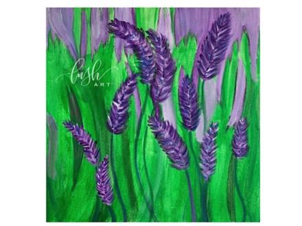 Beginner Lavender Paint Class