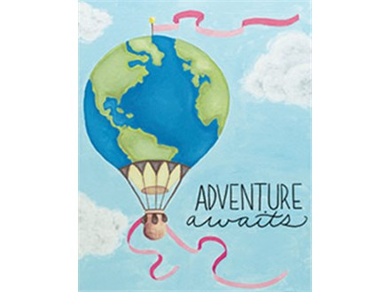 Adult Canvas - Adventure Awaits - 04.28.17 - Evening Session