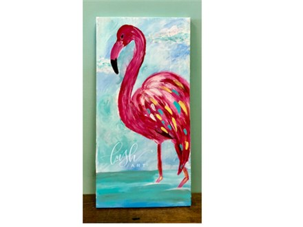 Flamingo Paint Class