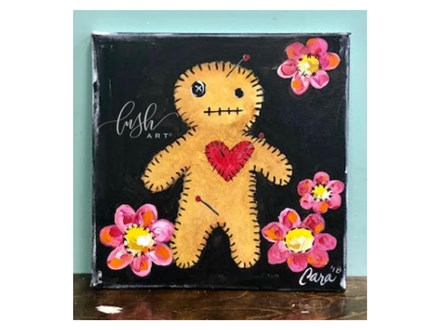Voodoo Doll Paint Class