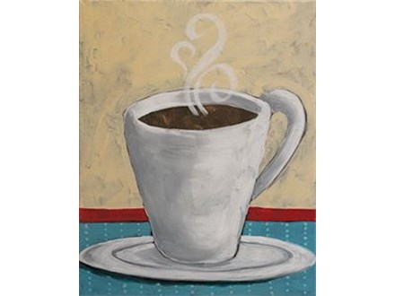 """""""Cup of Comfort"""" - All Ages Canvas Event"""