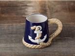 """ Ahoy Mug"" To-Go Kit- at Color Me Mine - Aspen"