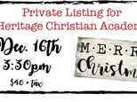 Private listing for Heritage Christian Academy