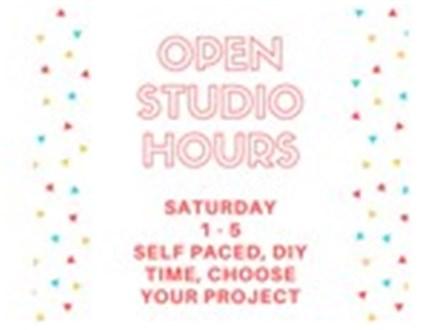 Open Studio - DIY, Self-Paced - Jan 13