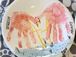 Family Pottery - Mommy and Me Dinner Plate - Evening Session - 05.03.19