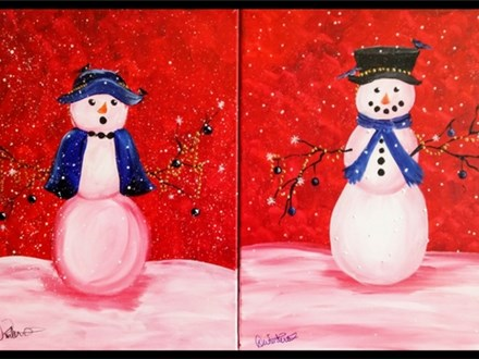 Mr. and Mrs. Frosty 12/23