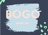 BOGO Studio Fee