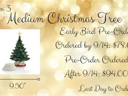 Christmas Pre-Order, Option 3: Medium Christmas Tree