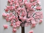 Kids Canvas - Cherry Blossom Tree