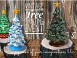 Vintage Tree Painting Party, December 7, 2019