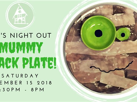 Kid's Night Out: Mummy Snack Plate!