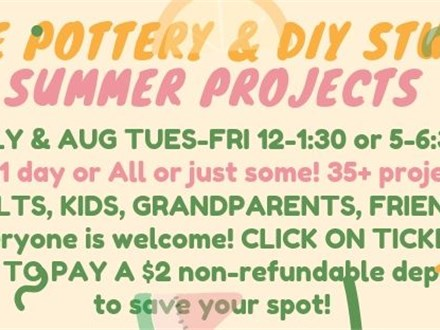 SUMMER PROJECTS!!!!! JULY AND AUGUST