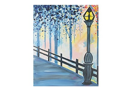 Evening Stroll - Canvas - Paint and Sip