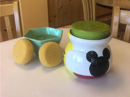 """""""Mickey Mouse Week"""" - Mickey Saying Pot or Caddy, Crafts, & Movie! Wednesday, August 12th: 10am-3pm"""