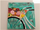 Bike Basket Canvas Class $35 (Adult)