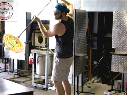 Tomball Together Glassblowing Demos @ Three Dimensional Visions