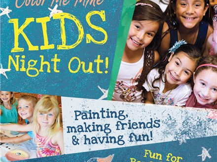 Kids Night Out - Every Friday - 530-8pm (main studio remains open for walk ins)