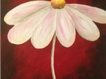 Adult Daisy Canvas Painting Class