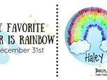 My Favorite Color is Rainbow Day Camp