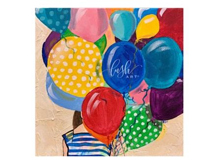 Balloon Girl Paint Class