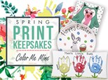 Spring Print Keepsake Event