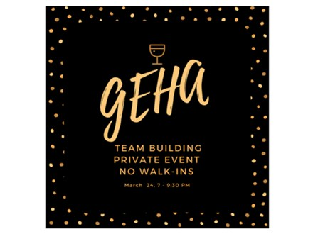 GEHA Private Event - Paint & Sip - May 31