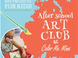 Kids Art Club -Color Me Mine Torrance